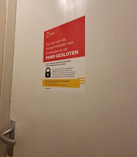 Illegaal bordeel in Schiedam ontdekt en op last van de burgemeester gesloten