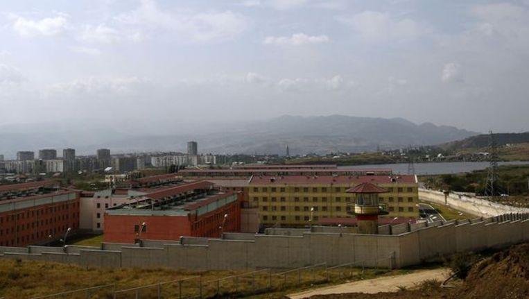 De gevangenis in Tbilisi waar de martelingen plaatsvonden Beeld REUTERS