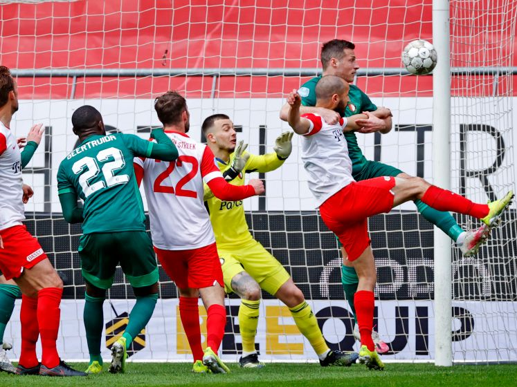 Feyenoord werkt al een heel seizoen voortdurend achterstanden weg