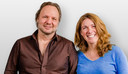 Rob Stenders neemt sidekick Caroline Brouwer mee naar Radio Veronica.