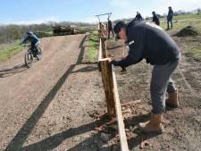 Bikepark Mook officieel open, maar slechte weer houdt veel fietsers thuis