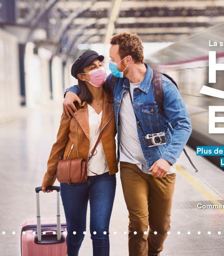 Hello Europe! Voyagez cet été vers plus de 3.600 destinations internationales grâce à la SNCB