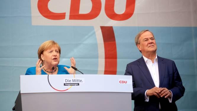 Merkel waarschuwt voor instabiliteit na verkiezingen: 'Het is niet om het even wie regeert'