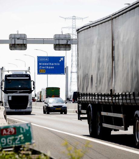 Reistijd naar Zeeland kan bij Haringvlietbrug met een uur oplopen