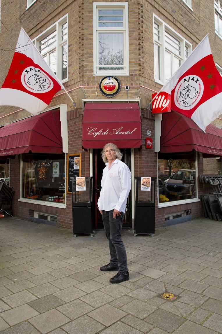 Arie van de Velden van Café de Amstel. Beeld Susanne Stange