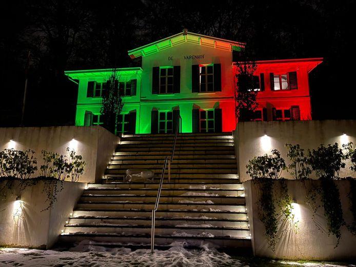 NEC-kleuren verlichten dit huis.