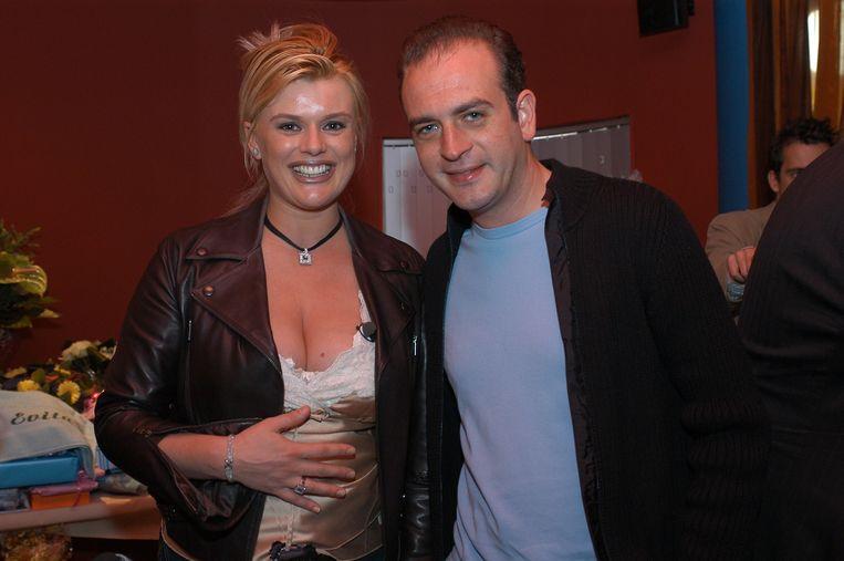 Betty Owczarek en Jeroen Denaeghel. Beeld Humo