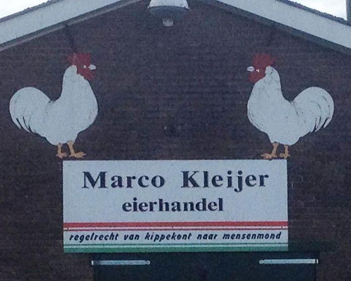 Een eierhandelaar dacht dat deze slogan hem wel wat extra klanten op zou leveren.
