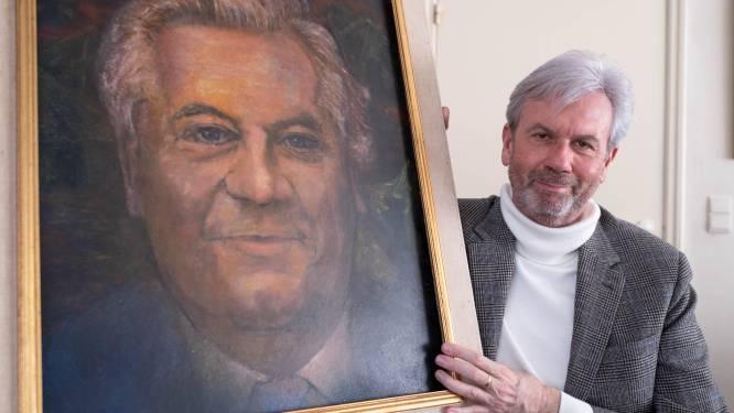 """Wim Jorissen krijgt portret van vader en VU-oprichter cadeau: """"Wist niet eens dat het bestond!"""""""