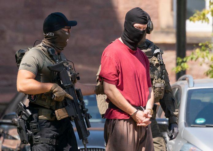 De extreemrechtse Stephan E. (45) geldt als hoofdverdachte van de moord op CDU-politicus Walter Lübcke, in juni vorig jaar bij Kassel.