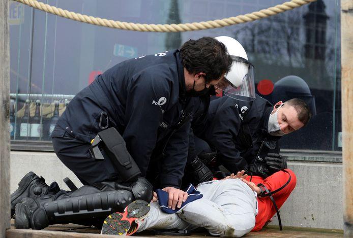 Arrestation ce dimanche à Bruxelles.