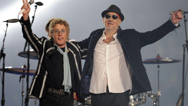 The Who bestaat in 2014 vijftig jaar en viert dat (misschien) met een nieuw album. Beeld AFP