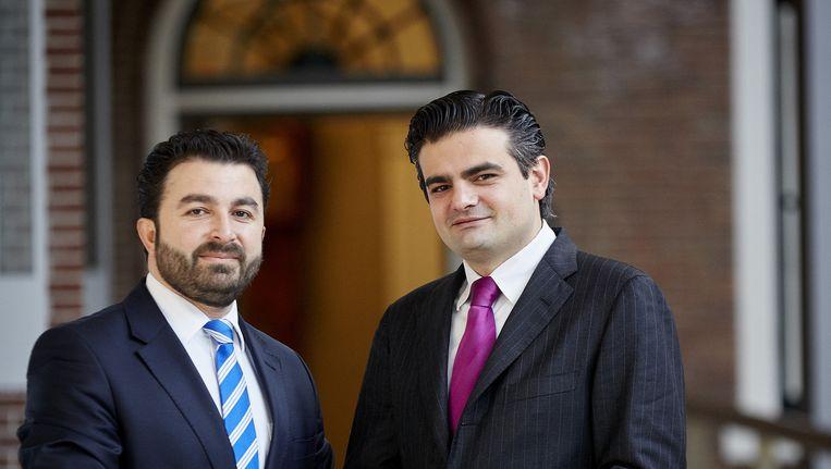 Nieuwe partij van oud-PvdA-Kamerleden, Kuzu en Öztürk, heet Denk. Beeld anp