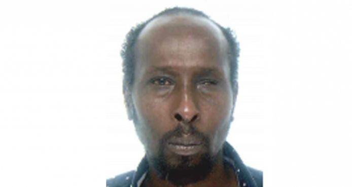 De vermiste Bashe Hussein Abdi (43) uit Kortrijk.