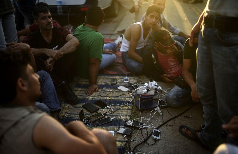 In de Turkse provincie Van verblijven veel vluchtelingen. Beeld AFP