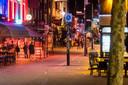 Stratumseind in Eindhoven is door de uitbraak van het virus een stuk rustiger dan anders.
