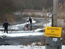 IJsbaan in Horsterpark klaar voor liefhebbers: donderdag schaatsen