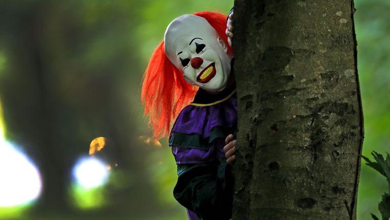 Dat er opnieuw meer clowns mensen de stuipen op het lijf willen jagen, is allicht een gevolg van de lancering van de nieuwe film 'It'. Beeld photo_news