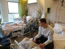 Bijzonder: oma en kleinzoon samen op één kamer in het ziekenhuis