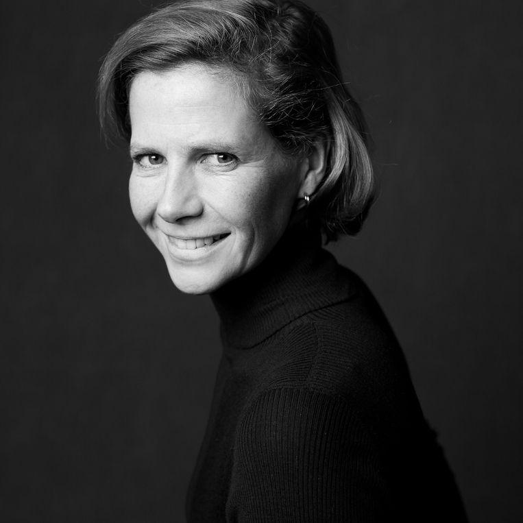 Laura Spinney. Beeld Dominique Cabrelli