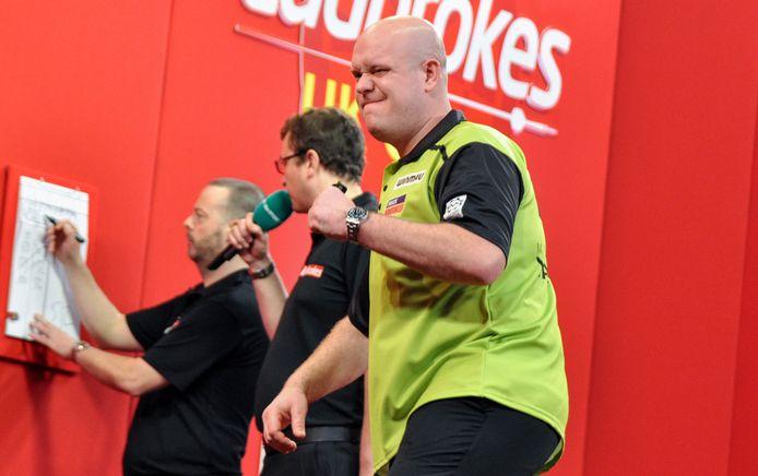 Michael van Gerwen op de UK Open.