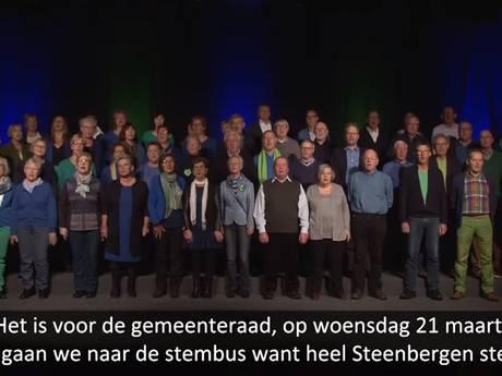 Lied 'Heel Steenbergen zingt' in de zeik genomen bij Jinek