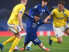 Chelsea en Brighton scoren niet op bizarre avond op Stamford Bridge