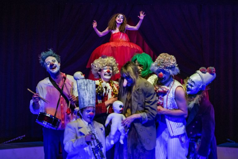 'The Clowns Convention'. Beeld RV Fred Debrock