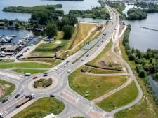 Nooit meer in de file na verbouwing turborotonde bij  aquaduct Harderwijk