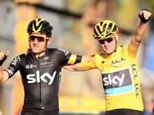 Froome en Thomas genieten van spannende Tour: 'Afwachten hoe lang Roglic dit volhoudt'