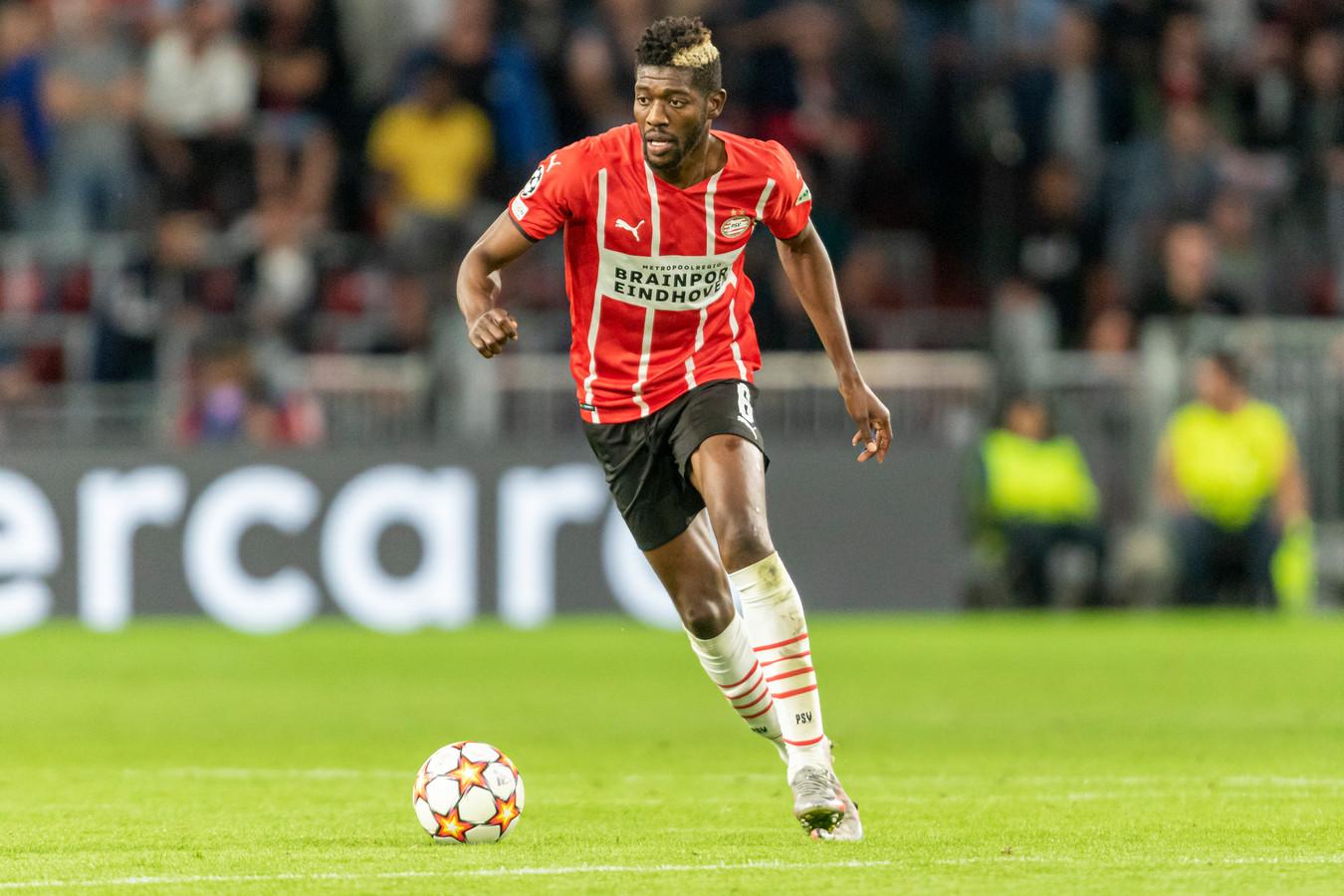 Ibrahim Sangaré is een twijfelgeval voor het duel met AZ.