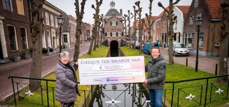 Cheque van 50 mille voor herinrichting museum Nieuwpoort: 'We zijn hier heel gelukkig mee'