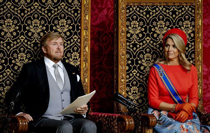 Le roi Willem Alexander et la reine Maxima.