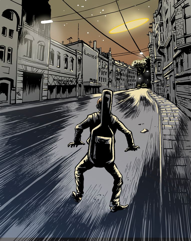 Marcel zag midden in Amsterdam een ufo. Beeld Erik Kriek