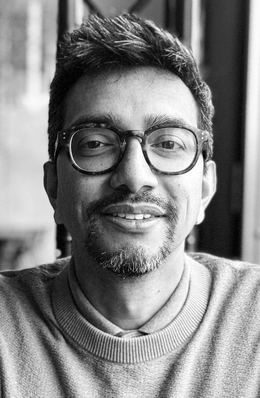 Reza Kartosen-Wong, Mediawetenschapper en co-auteur van Waar is mijn noedelsoep?!? Dit najaar verschijnt zijn tweede kinderboek. Beeld