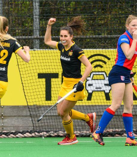 Madese Pleun van der Plas op drempel hockeytitel: 'Superblij dat we om het kampioenschap mogen spelen'