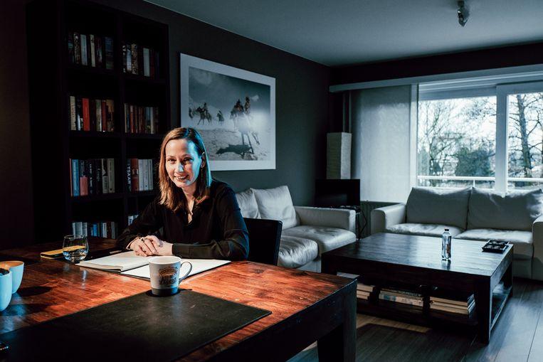 Inge Vervotte: 'Ik heb altijd bewust een zekere zakelijkheid gehanteerd, als tegenwicht voor dat etiket van 'jong, licht en soft'. Beeld Thomas Sweertvaegher