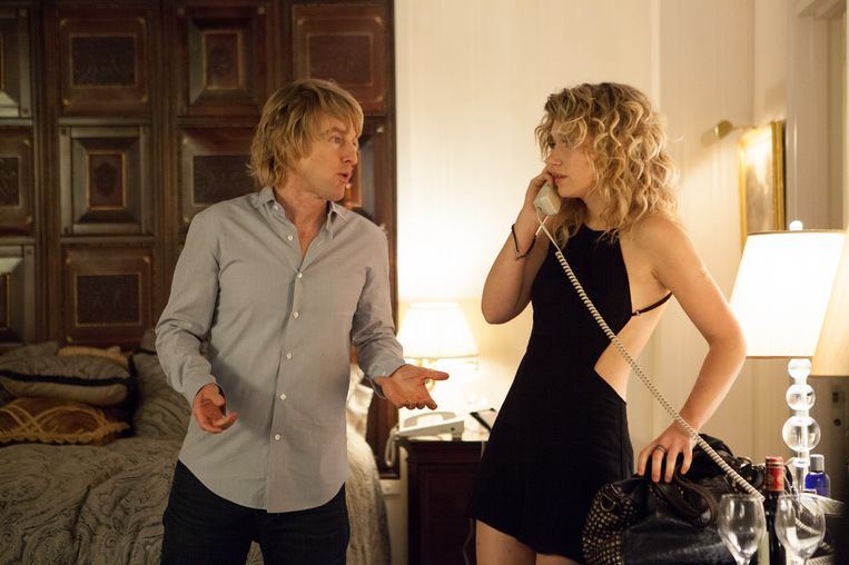 Owen Wilson en Imogen Poots in She's Funny That Way van Peter Bogdanovich. Beeld
