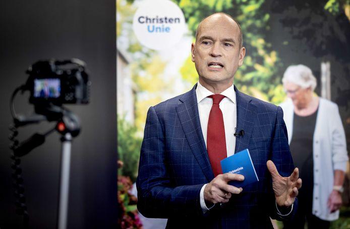 Lijsttrekker Gert-Jan Segers van de ChristenUnie.