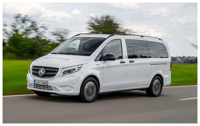De vernieuwde Mercedes-Benz eVito