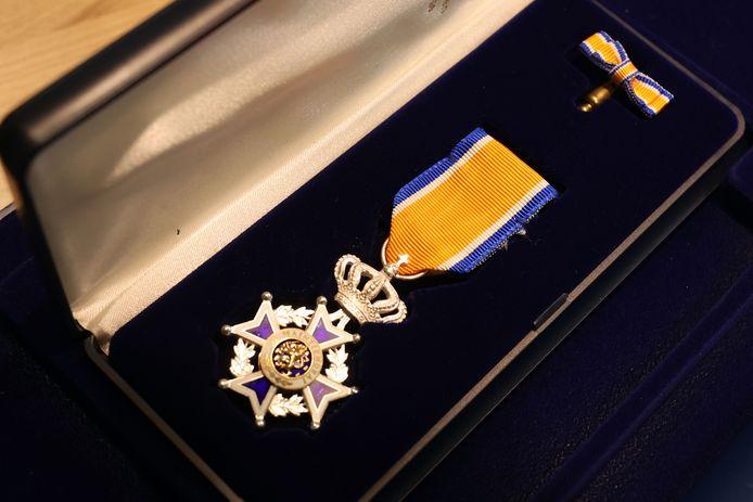 Koninklijke onderscheiding ter illustratie.