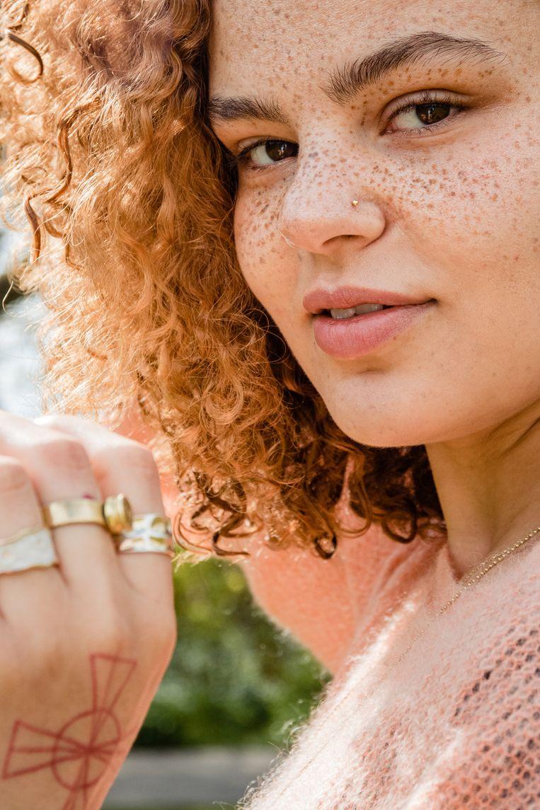 Hannah (23), Flevopark. Beeld Saskia van den Boom