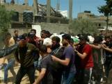 Rouwstoet in Gaza na luchtaanvallen van Israel
