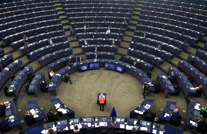 Europees Commissievoorzitter tijdens haar State of the Union woensdag.