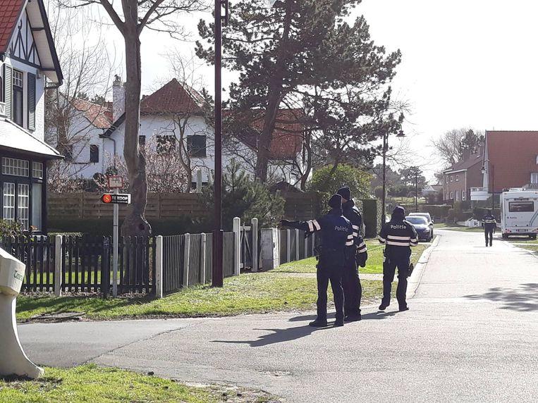 De politie hield naar aanleiding van de inbrakenplaag een grote controle in de Concessiewijk.