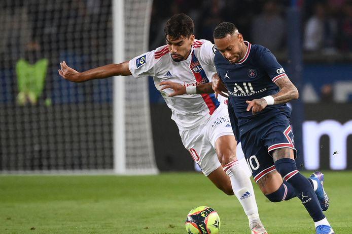 Neymar et Lucas Paqueta