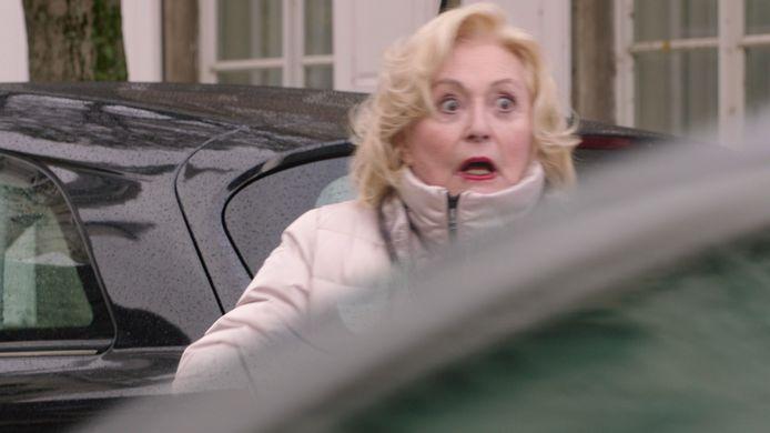 Marianne (Leah Thys) wordt in 'Thuis' overhoop gereden.