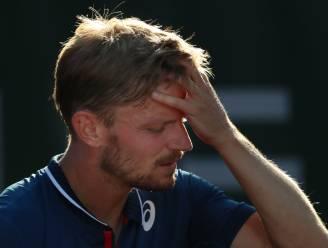 """David Goffin moet al na één ronde Roland Garros verlaten: """"Ik stel mezelf veel te veel vragen"""""""