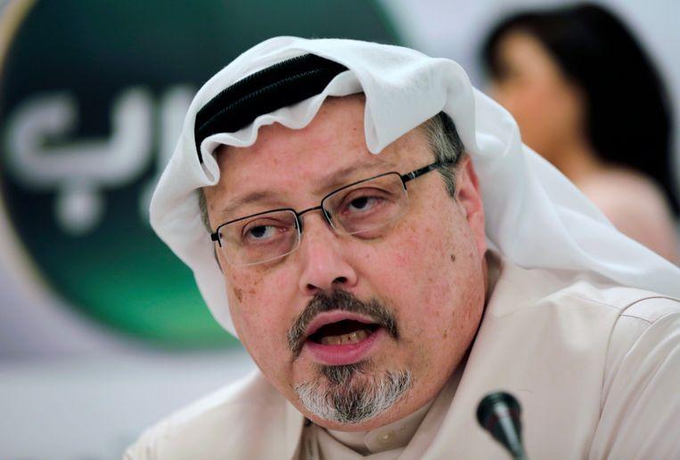 De Saudishe journalist Jamal Khashoggi. Beeld AP