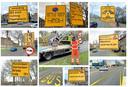 Dordrecht maakt zich op voor de werkzaamheden bij de Wantijbrug. Op verschillende plekken in de stad duiken borden op die automobilisten moeten wijzen op de omleidingsroutes.